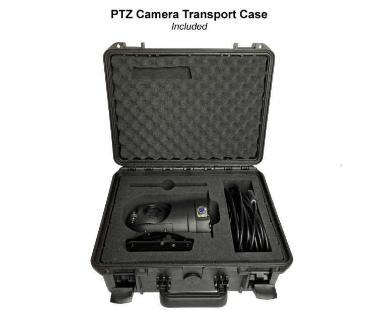 PTZ Camera transport case