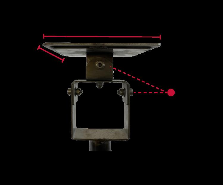 Inox Pole for PTZ Camera
